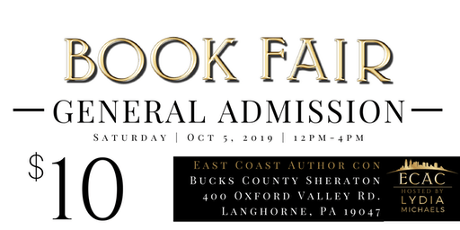 ECAC19 Book Fair (GENERAL ADMISSION)
