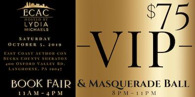 ECAC19 VIP Early Admission Book Fair & Masquerade Ball (VIP)