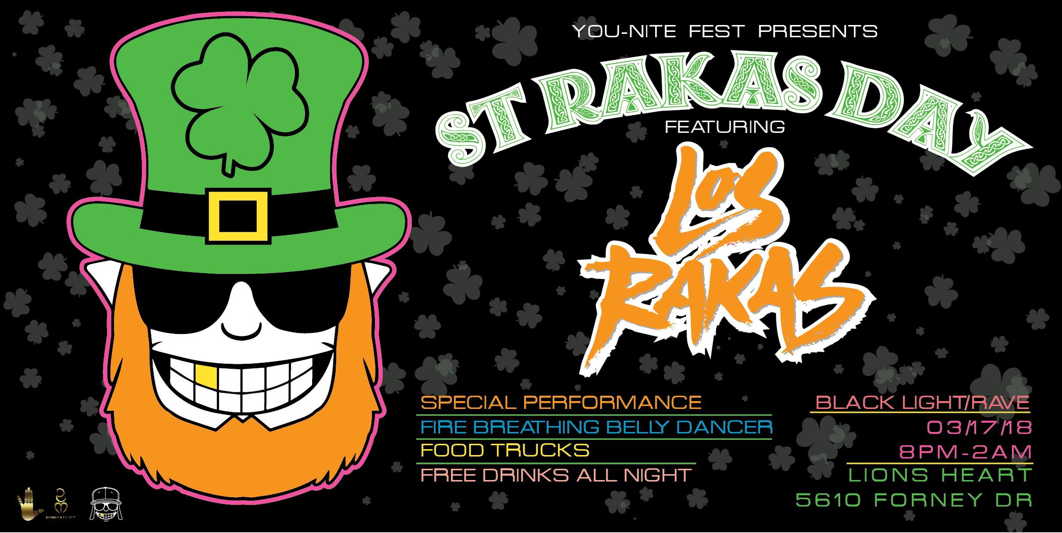 St Patrick's Day Houston March 17th St Rakas