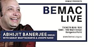 BEMAC LIVE - Abhijit Banerjee (India)