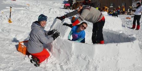 Iglubau Workshop inkl. Übernachtung, Verpflegung und geführte Schneeschuhwanderung, Bosruckhütte (OÖ)  Tickets