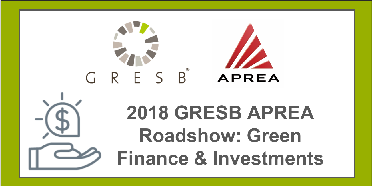 GRESB & APREA: Green Finance & Investments |