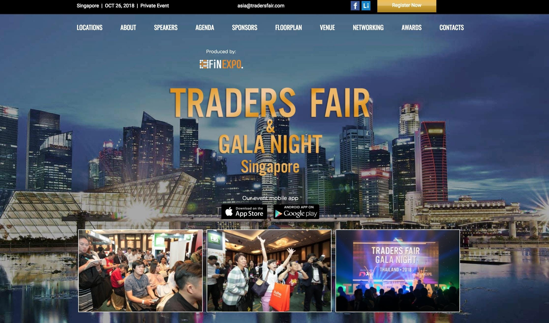 Traders Fair 2018 - Singapore (Financial Even