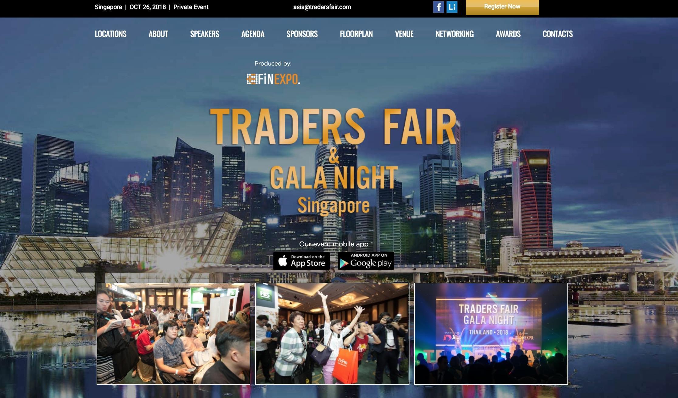 Traders Fair 2018 - Singapore (Financial Even