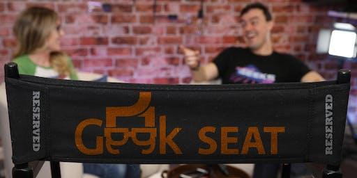 StreamGeeks Exclusive In-Studio Audience Seating