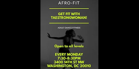 Afro-Fit with Taestrongwoman tickets