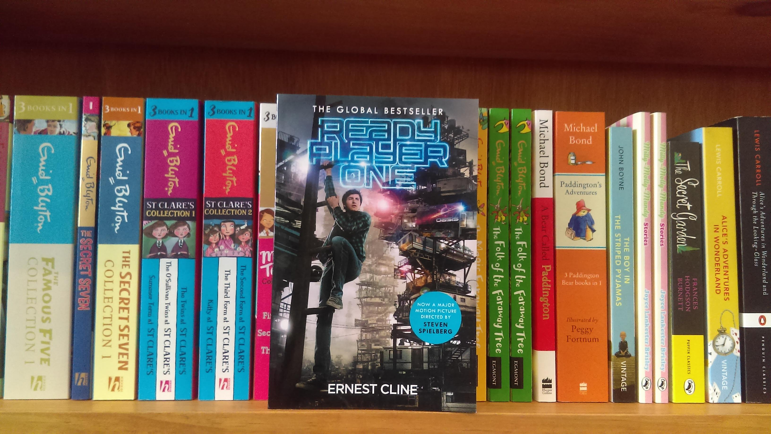 May Young Adult Book Club Ready Player One 1 May 2018