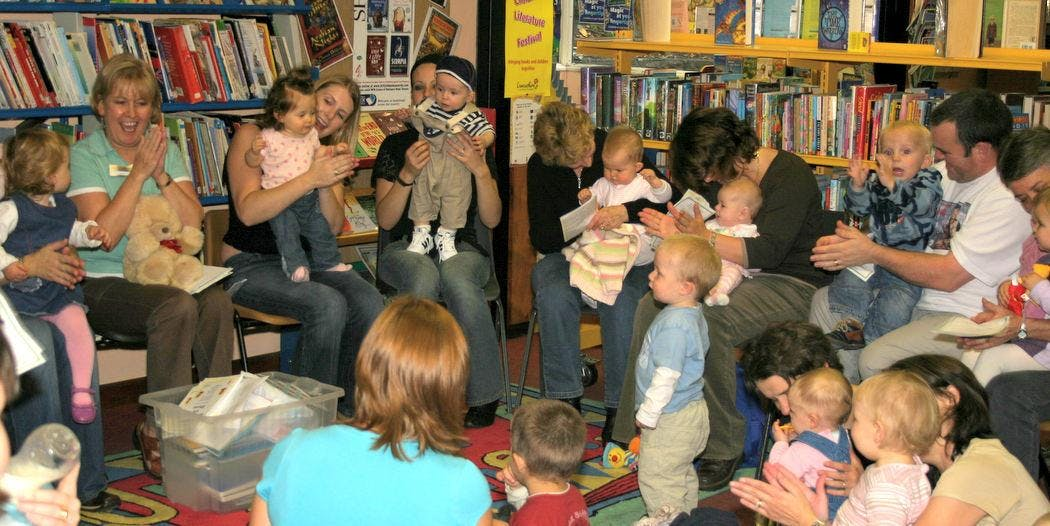 Baby and Toddler Rhyme Time (Thornton Library