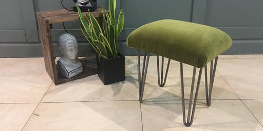 Learn How To Upholster a Footstool Using Modern Techniques (2 day course)