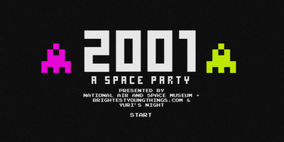 National Air and Space Museum + BYT + Yuri's Night Present 2001: A Space Party