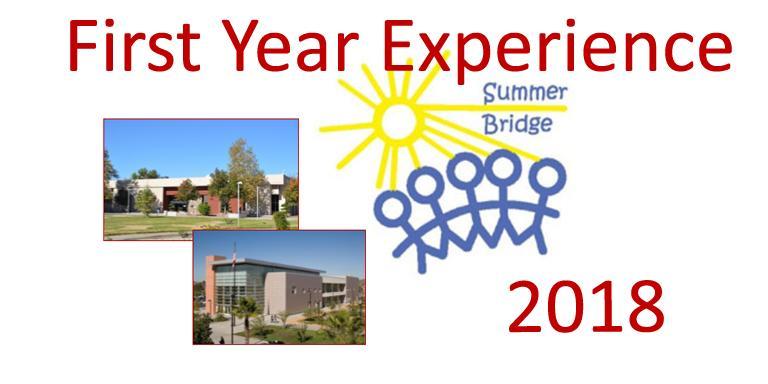 Summer Bridge 2018 Fye San Jacinto Campus Msjc 18 Jun 2018