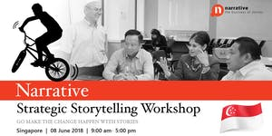 Strategic Storytelling Workshop Singapore: SOLD OUT