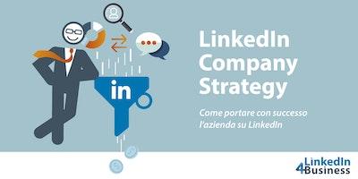 LINKEDIN COMPANY STRATEGY - il corso più completo sulle strategie aziendali