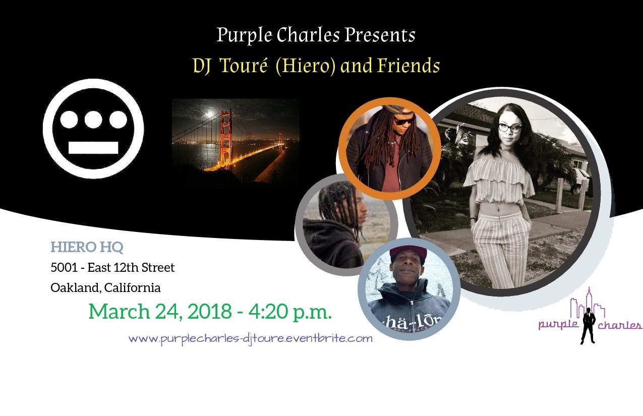 Purple Charles presents DJ Touré (Hiero) and