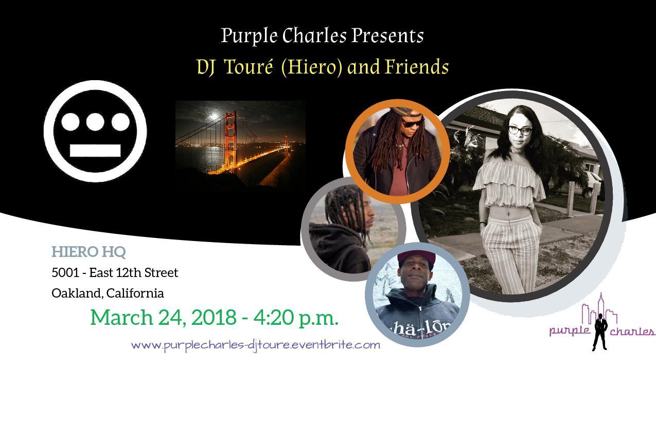 Purple Charles presents DJ Touré (Hiero) and