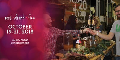 TASTE! PHILADELPHIA Festival of Food, Wine & Spirits 2018