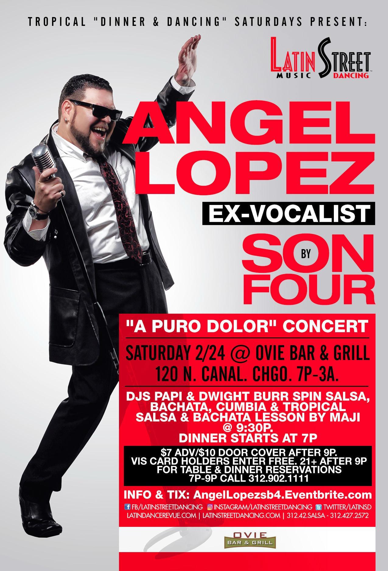"""Son by Four ex-vocalist Angel Lopez """"A Puro D"""
