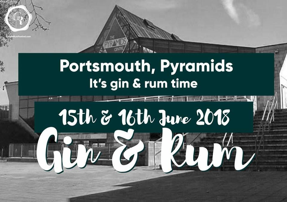 The Gin and Rum Festival Portsmouth 2018