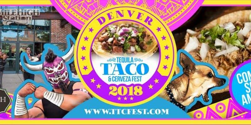 Denver Tequila, Taco, & Cerveza Fest Top Tequila Events in Denver
