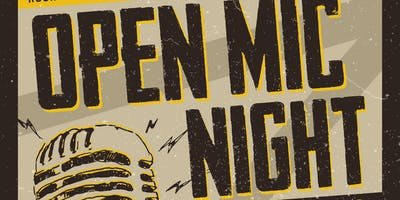 Adult Open Mic Night - 2018 Dates