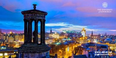 The University of Edinburgh: meet us in Rome - 17 April 2018