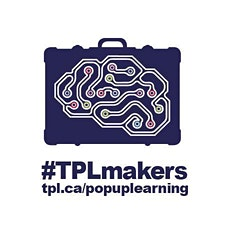 The Toronto Public Library's Pop-Up Learning Lab (East) logo