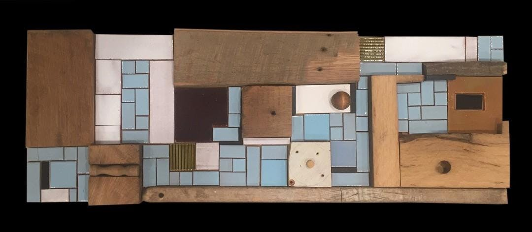 City Art Lab with Stacia Goodman: Mosaics from Scrap Wood (August 11 & 18)