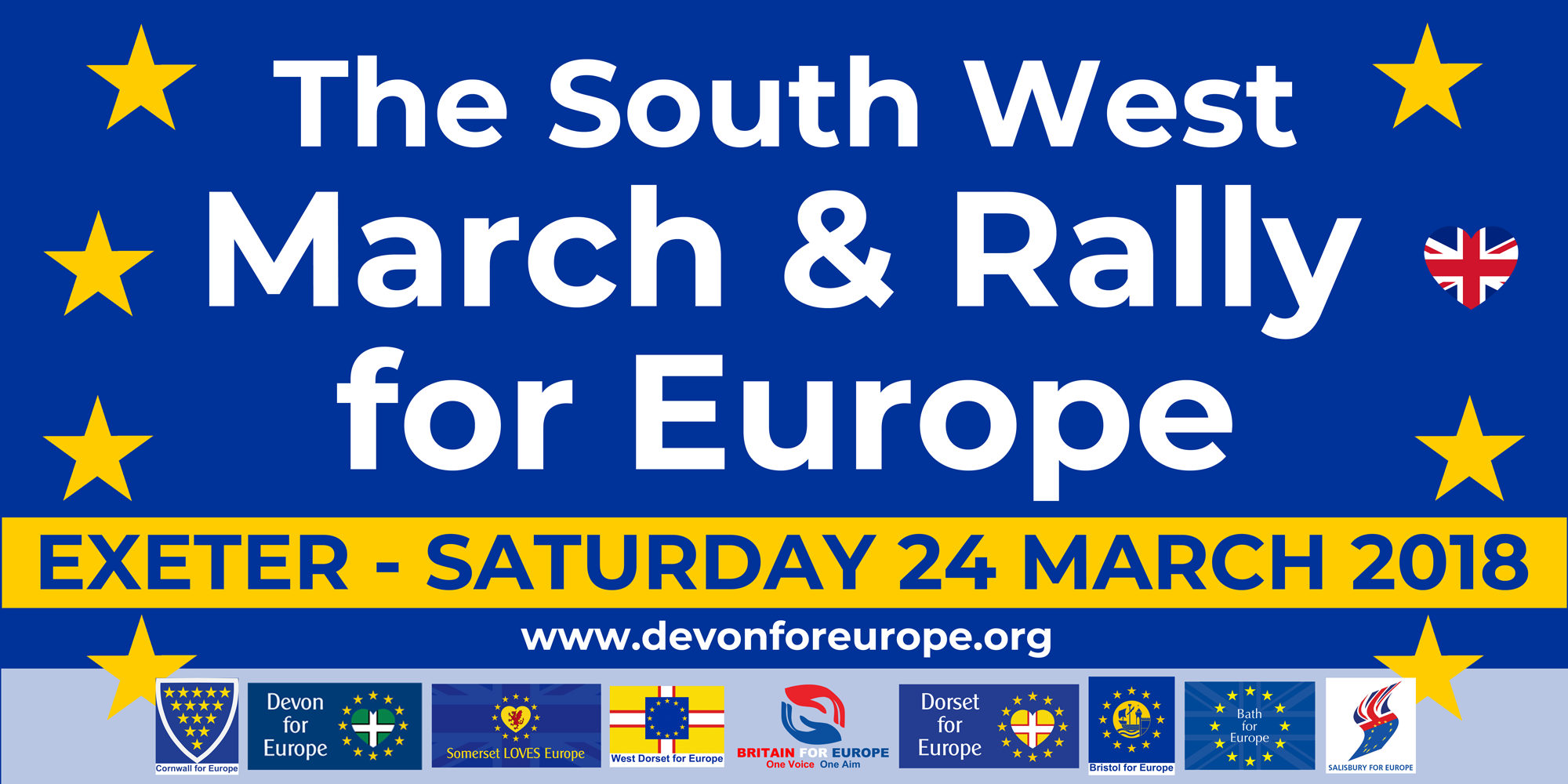 The South West March & Rally for Europe