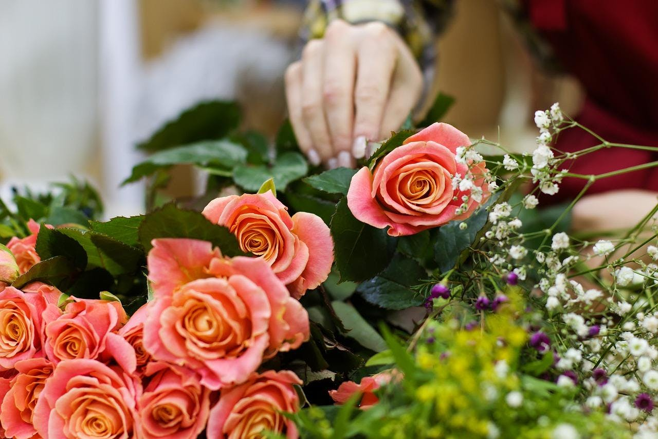Workshop Blumenstrausse Selber Binden Hasloh 03 05 18