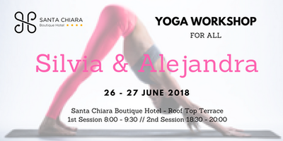 Yoga Workshop Silvia & Alejandra