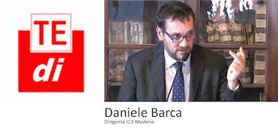 "TEDI 2018 ""Daniele Barca ""BEST PRACTICES"" ATELIER, BIBLIOTECHE, INNOVAZIONE DIGITALE."