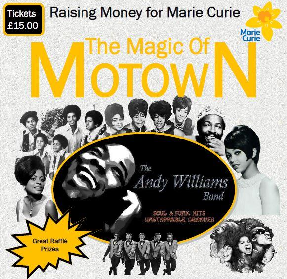 The Magic of Motown in aid of Marie Curie