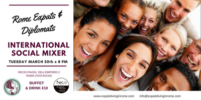 Rome Expats & Diplomats: International Social Mixer