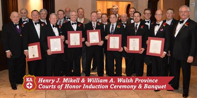2019 Mikell & Walsh Province Courts of Honor