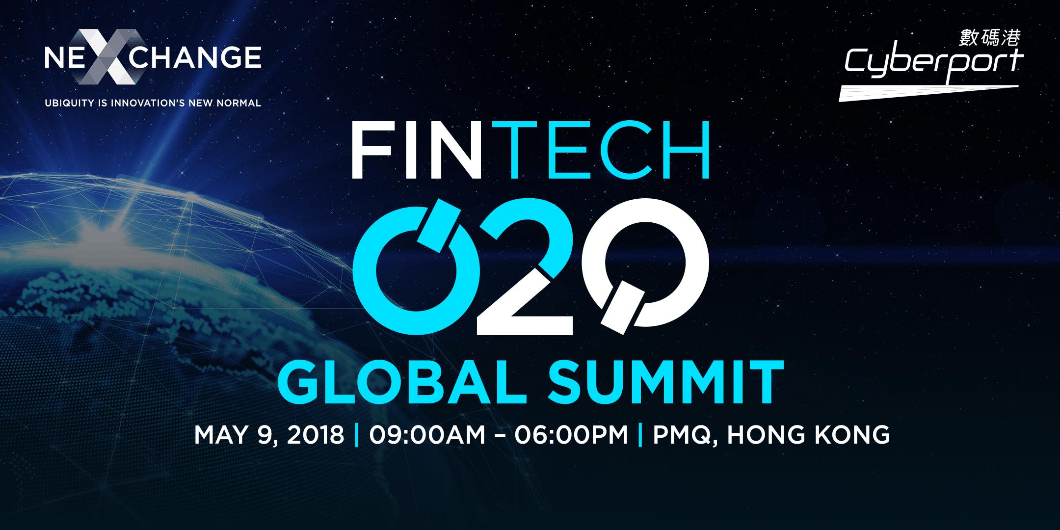 Fintech O2O: Global Summit 2018 (CPT Consider