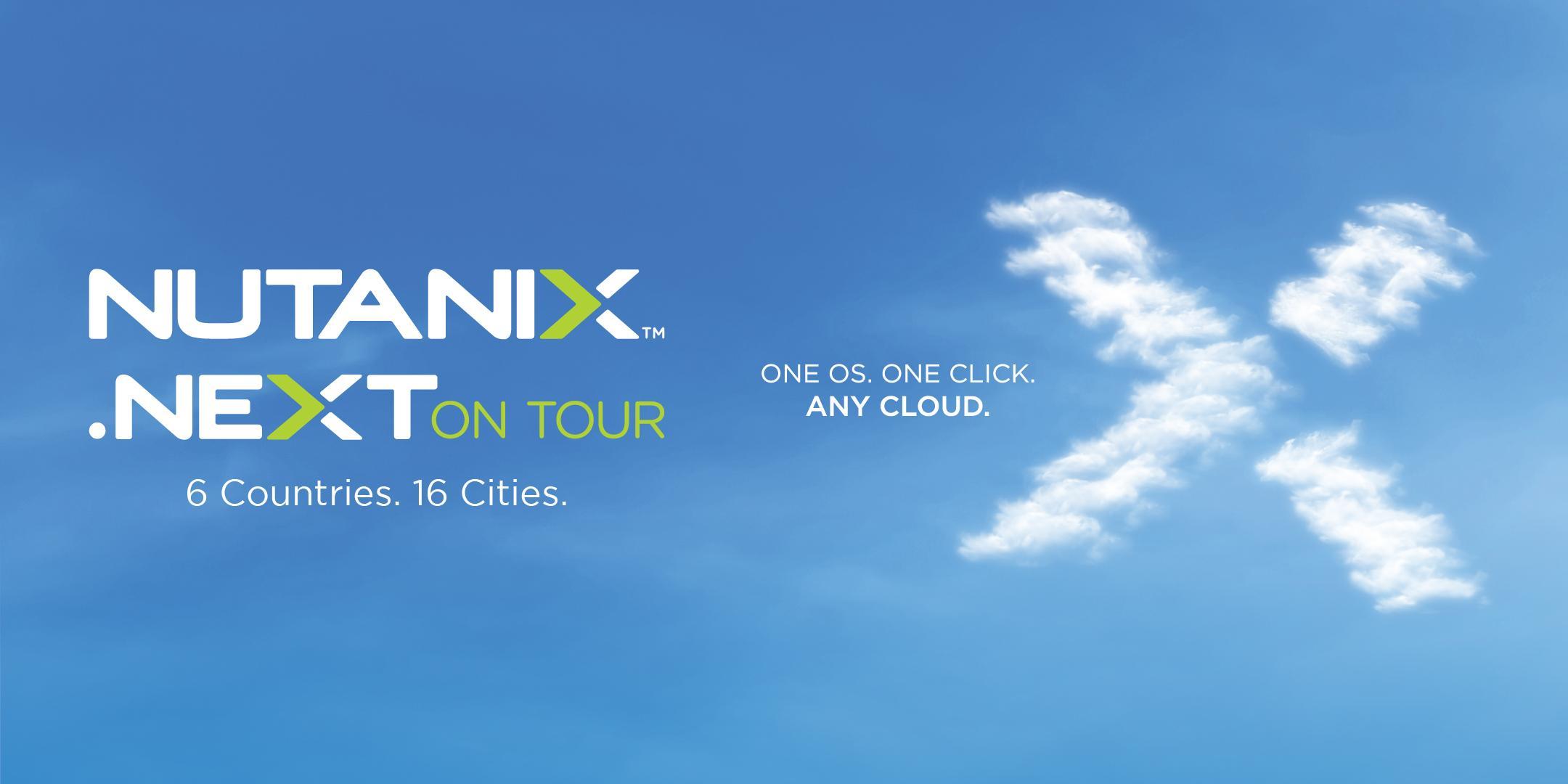 Nutanix .NEXT on Tour Zurich, Switzerland - 20th March 2018