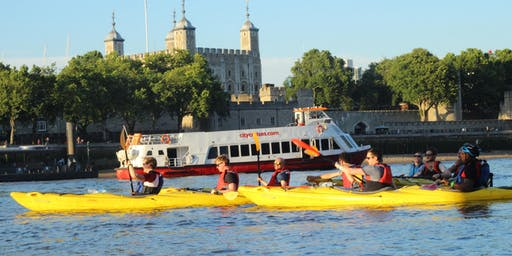 Kayak Bus  (Battersea to Greenwich).