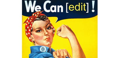 Wikipedia edit-a-thon: dissidents, suffragists and freedom fighters