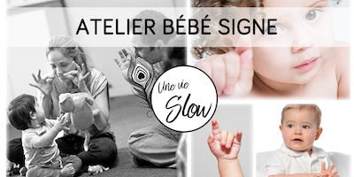Atelier bébé signes (communication gestuelle pour les enfants entendants)