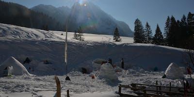 Iglubau Workshop inkl. Übernachtung und geführte Schneeschuhwanderung, Bosruckhütte (OÖ)