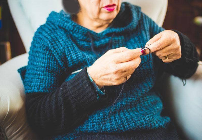 Le Mardi, Les Gens Tricotent