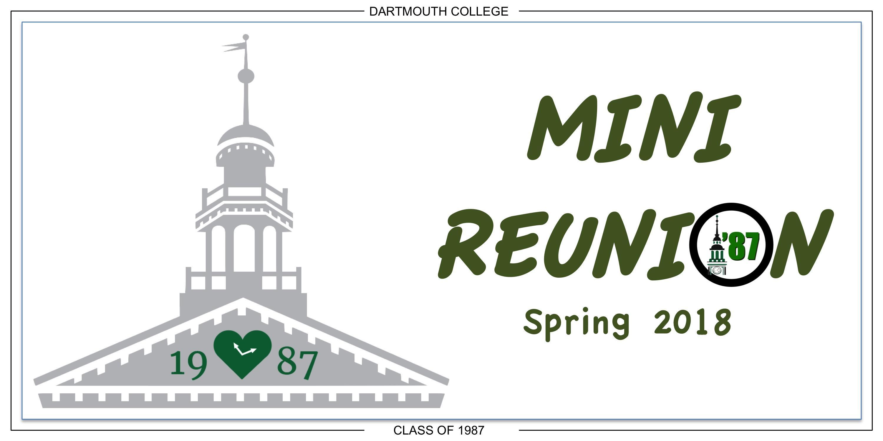 Dartmouth '87s Mini-Reunion (Boston)