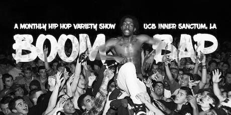 BOOM BAP - A Hip Hop Variety Show tickets