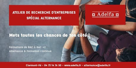 Atelier de Recherche d'Entreprises - Spécial Alternance billets