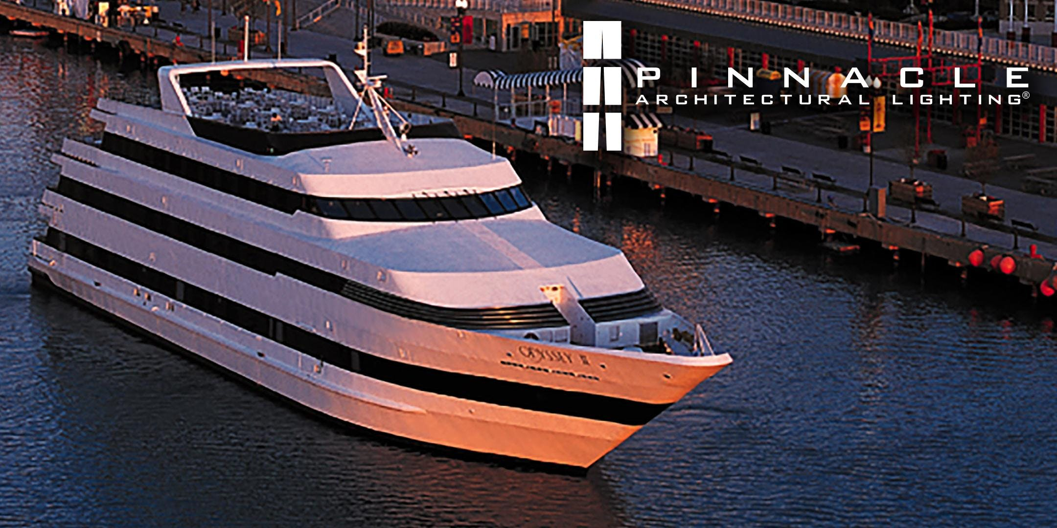 pinnacle architectural lighting boat party 5 30 pm boarding at