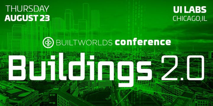 Image of a poster for buildworlds buildings 2.0 conference recap