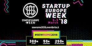 Startup Europe Week Rome 2018