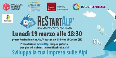 Presentazione RestartAlp