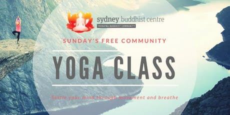 Yoga Class at the Sydney Buddhist Centre tickets