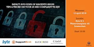 Impact AVG/GDPR op Magento shops